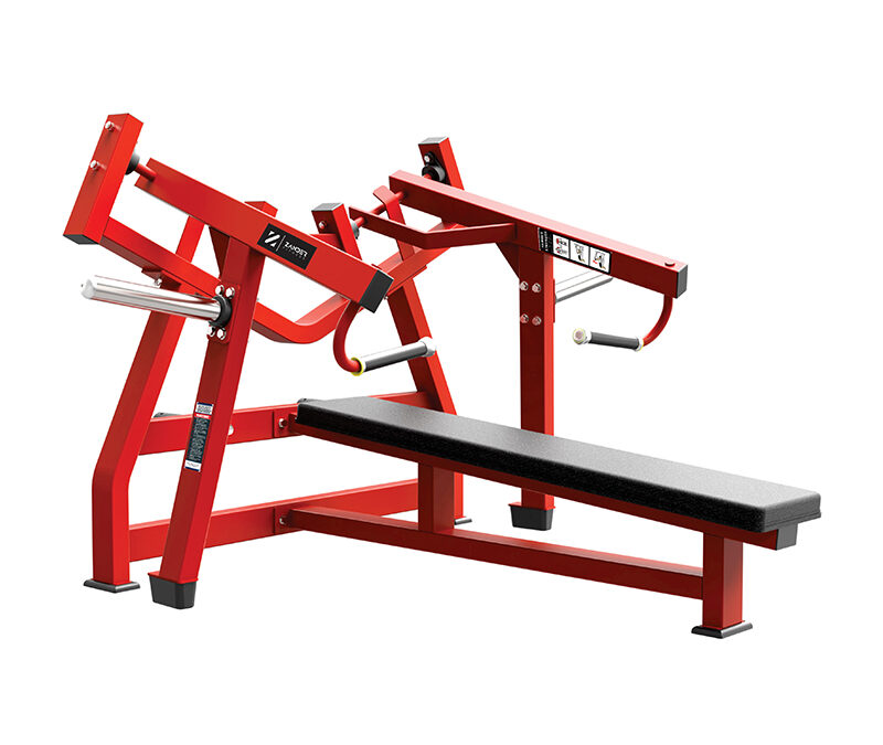 Pres de pecho plano isolateral / Laydown chest press